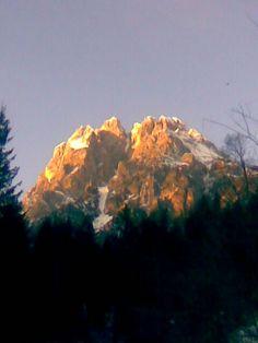 Tramonto sull' Antelao da Venas di Cadore Dolomiti Belluno by Gemma B.