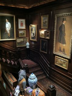 Ralph Lauren Store on Madison Ave. I want this staircase