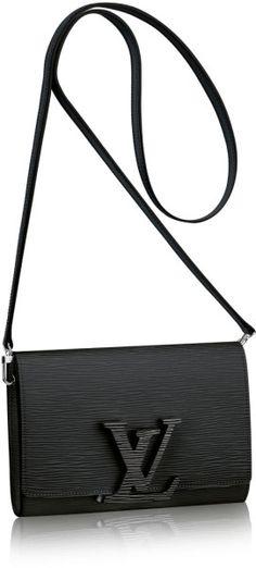 Louis Vuitton Louise Strap Pm in Black (Noir)  5058c1c18b3f2