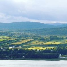 Mont Anne as viewed from l'ile d'Orleans. Canoeing, Quebec, Photo S, Trail, Scenery, Hiking, Mountain, River, Photo And Video