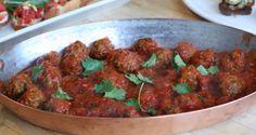 Moroccan Meatballs —