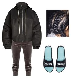 """You gotta Show meee...."" by beautyqueen-927 ❤ liked on Polyvore featuring Rick Owens and HUF"