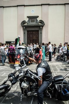 12 Luglio 2014 Nicolas e Lucia #bikers-matrimonio #Villongo #Bg