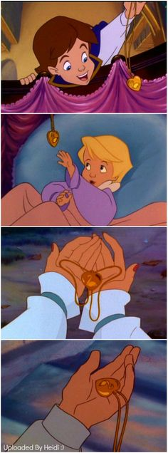 The Locket~Swan Princess