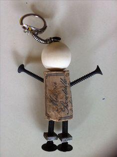 Porte clés pour la fête des pères, voici le proto, à améliorer .....