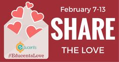 Are you ready to share the love!? Several of the sellers at Educents have joined together to bring you some amazing prizes. We are giving away 3 different prizes. $200 in Edubucks (store credit to purchase what YOU need!) $50 worth of Scholastic books A Times Tales DVD Ready to …
