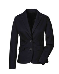 BASICS: Black blazer. Can be paired with almost any skirt or slacks. Much more professional than showing bare sholders.