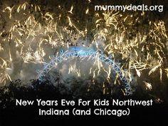 New Years Eve in Northwest Indiana for Families. #nwi #northwestindiana #chicago