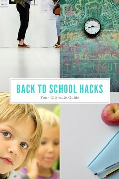 The best back to school hacks for kids and parents. Includes the organizational tips, school resources, and encouragement you need! Back To School Hacks, Going Back To School, School Ideas, School Tips, School School, Parent Resources, School Resources, Parenting Advice, Kids And Parenting