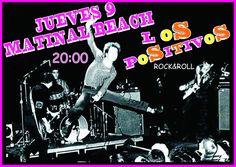 LOS POSITIVOS en directo en el Matinal Beach de Las Galletas (Tenerife). Todos los jueves a partir de las 20:00 horas.