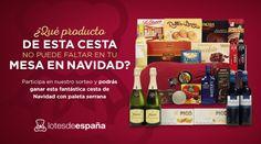 Gana una Cesta de Navidad con Paletilla Ibérica para estas fiestas ¡Participa!