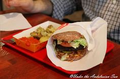 One of the best vegetarian burgers out there, Soi Soi, Helsinki