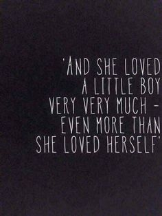 She loved a little boy ❤️