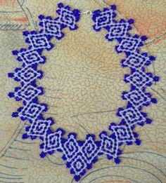 Бесплатно шаблон для ожерелье Греции | бусины Магия | клипы'