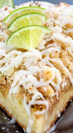 Key Lime Coffee Cake