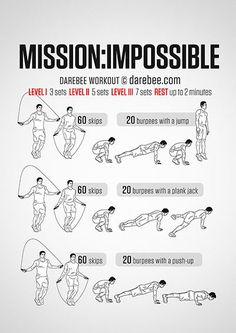 Mission Impossible Workout