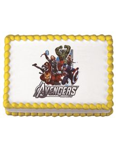 DecoPac Edible Image, Avengers-Assemble, .3 Pound ** Unbelievable product is here! : baking decorations