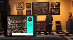 Apple iBeacon technology applied to classical art in Antwerp Museum