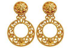 Flamenco Circular Earrings on OneKingsLane.com