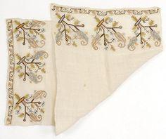 Embroidered Crimean Tatar or Ottoman Cover Textile.