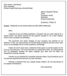 social worker cover letter sample httpexampleresumecvorgsocial - Cover Letter Clerical