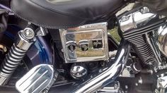 Harley Davidson customized with Berlin Brigade 101st Airborne and 502nd Infantry emblems