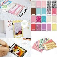 100% Brand New Material:paper Size:9*6cm DIY your photo album, your guest book, your vase, as long a