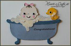 Baby Steps Cricut Cartridge make into a gift card holder