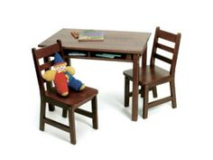 Lipper International ChildrenS Abc Table & Chairs Set