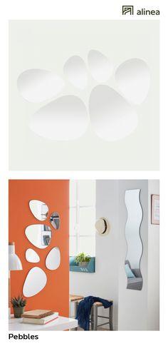 alinea : enya miroir carré en bois 25x25cm déco décoration murale on