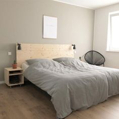 Bedroom ♡ #schlafzimmer #bett #diy #malm #ikea #ikea.