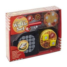 Melissa & Doug Press And Serve Wooden Waffle Set - Play Food And Kitchen Accessories : Target Best Gifts For Tweens, Tween Girl Gifts, Pop Toys, Little Chef, Corrugated Box, Toddler Christmas, Melissa & Doug, Toys For Girls, Girl Toys