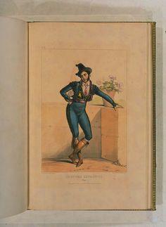 Costumes historiques de ville ou de théâtre et travestissemens - Historical Costumes of Town or Theater and Fancy Dress - Achille Devéria - Page 92