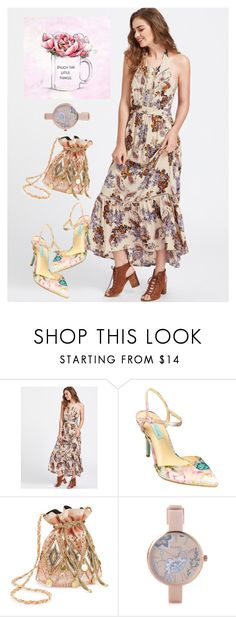 """""""dress"""" by masayuki4499 ❤ liked on Polyvore featuring Betsey Johnson, Miss Selfridge, Pilgrim and Oliver Gal Artist Co."""