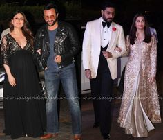 Celebrity Outfits at Manish Malhotra 50th Birthday Bash Hosted By Karan Johar