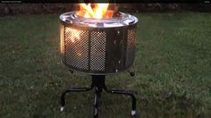 How To Build A Cool And Easy Fire Pit! - LivingGreenAndFrugally.com