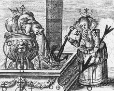 Historic Photograph - Alchemy Illustration by Science Source Study Of Earth, Alchemy Art, History Images, Old Master, History Books, Alchemist, Occult, Painting Techniques, Old Things