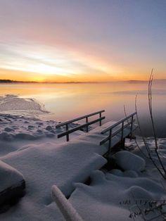 Norrland, vinter, snö