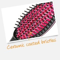 JML... Simply Straight: Heated Ceramic Hair Straightener Brush Product Code: s0sss60100000001 ONLY £39.99