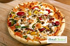 Total Choice Quick Veggie Turkey Pizza: Splurge on pizza without the guilt. Eat this recipe on the Total Choice 1200-calorie plan.