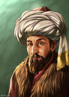 Mehmed the conqueror Seventh sultan of Ottoman, conqueror of Constantinople. Islamic Posters, Islamic Art, Digital Portrait, Portrait Art, Mehmed The Conqueror, Composition Painting, Turkish Soldiers, Buddha Painting, Background Images Wallpapers