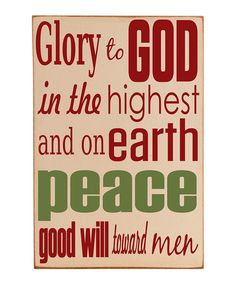 Take a look at this Vinyl Crafts Cream & Green 'Glory to God' Wall Art on zulily today! Christmas Signs Wood, Holiday Fun, Vintage Christmas, Christmas Crafts, Christmas Decorations, Christmas Ideas, Holiday Ideas, Christmas Time, Holiday Decorating
