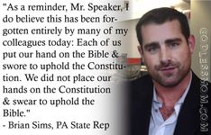Brian Sims, PA State Rep telling it like it is.