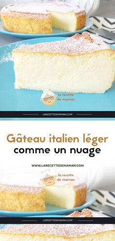 Gâteau italien léger comme un nuage – La Recette de maman drink rezepte rezepte abnehmen tipps rezepte Easy Cheesecake Recipes, Easy Cake Recipes, Cookie Recipes, Dessert Recipes, Simply Yummy, Easy Vanilla Cake Recipe, Italian Cake, Salty Cake, Cloud Cake