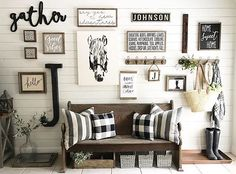 How to Decorate a Large Wall | Decorate large walls, Wall spaces and ...