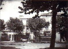 """El tranvía Barcelona-Hostafrancs hacia 1890""."