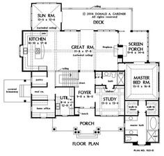 House Plans With No Formal Dining