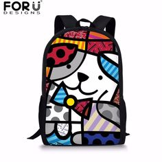 FORUDESIGNS Fashion Graffiti Design School Backpack for Teenage Girls Casual Women's Backpacks Bagpack Student School Bags Bolsa. Yesterday's price: US $17.41 (14.33 EUR). Today's price: US $17.15 (14.15 EUR). Discount: 34%.