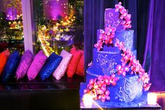 10 Fabulous Wedding Trends: #9. Not Your Grandma's Wedding Cake - colorful wedding cake