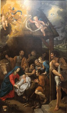 Adoration of the Shepherds-Philippe de Champaigne. Lyon